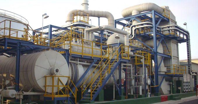Liquid Waste Incineration